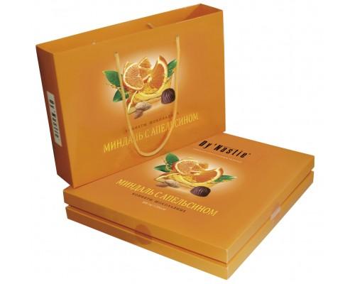 Династия  Миндаль с апельсином сумочка 205 гр