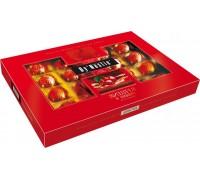 Шоколадные конфеты Dy'Nastie Вишня в ликере -прямоугольная коробка с окошком 194гр.