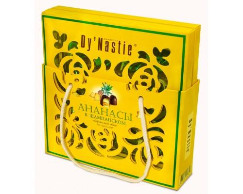 Шоколадные конфеты  Dy'Nastie  Ананас в шампанском сумочка 170гр