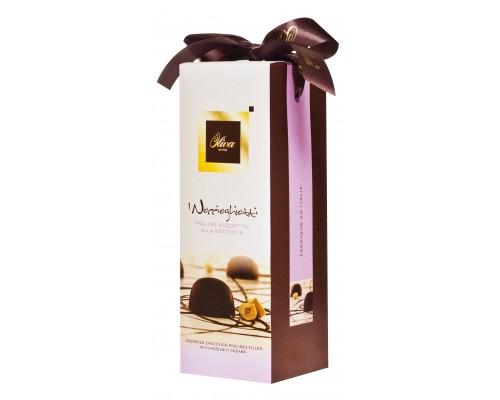 Шоколадные конфеты DULCIOLIVA  с начинкой пралине ассорти 300г Noccioghiotti (Tulip)