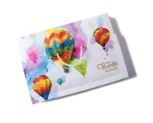 """Шоколадные конфеты Farmand Акалифа """"Воздушный шар"""" Виолетта 187гр  в сумочке"""