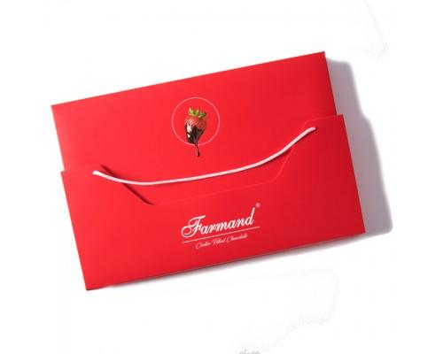 Набор шоколадных конфет Farmand Десео Шокобери в подарочной сумочке 285 гр.