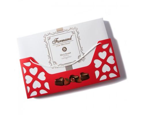 Набор шоколадных конфет Farmand Десео Роя в подарочной сумочке 285гр.