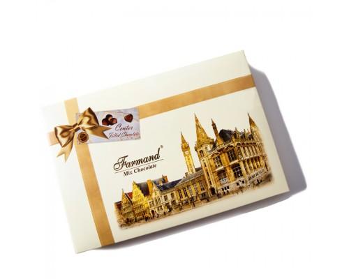 Шоколадные конфеты Farmand Лондон в подарочной сумочке 214гр.