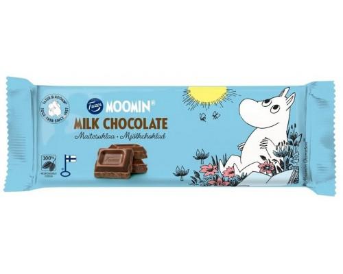 Молочный шоколад FAZER MOOMIN 68г