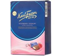 Шоколадные конфеты KARL FAZER с малиновым йогуртом 150г