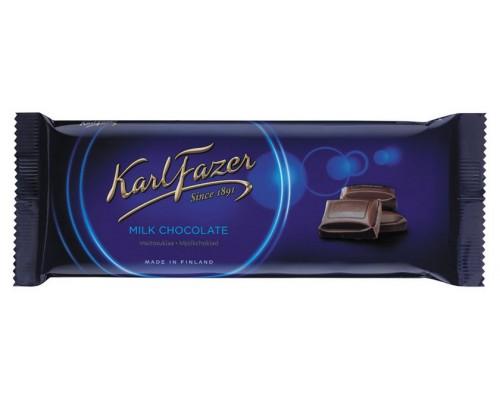 KARL FAZER  шоколад плиточный молочный 100 г.