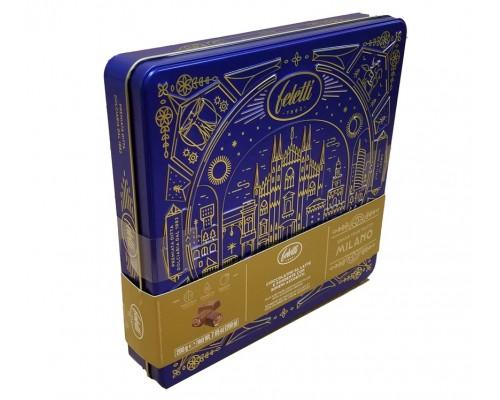 Фелетти Гранд Тур Милано шоколадные конфеты пралине (с начинкой из апельсина, орех, амаретто) 200 гр