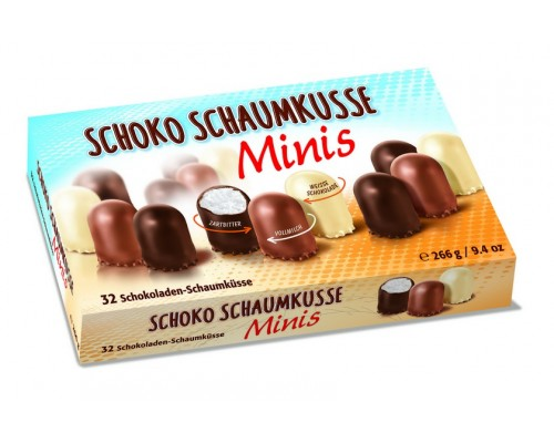 Воздушное суфле в шоколаде Grabower Minis Ассорти 266гр