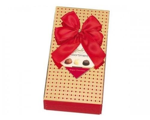 Гамлет Имидж шоколадные конфеты ассорти красные 125 гр