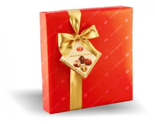 DELAFAILLE  Ассорти шоколадные конфеты квадратная коробка 200 гр