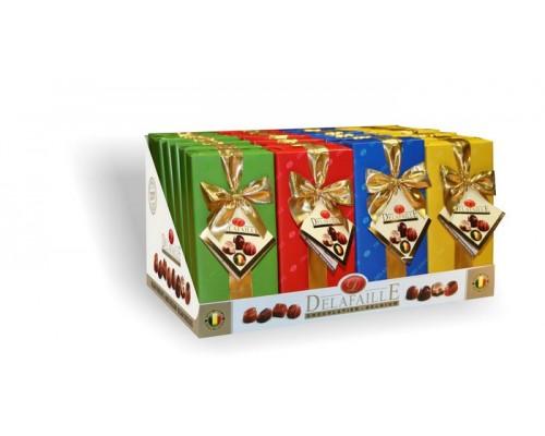 DELAFAILLE  Ассорти шоколадные конфеты сундучок 200 гр