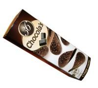 Гамлет Чипсы горький шоколад  125 гр