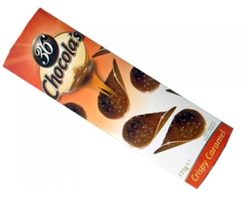 Гамлет Чипсы молочный шоколад с карамелью 125 гр
