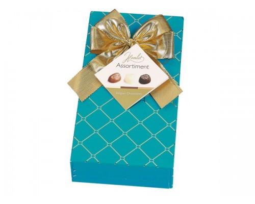 Гамлет Честерфилд шоколадные конфеты ассорти голубая 125 гр