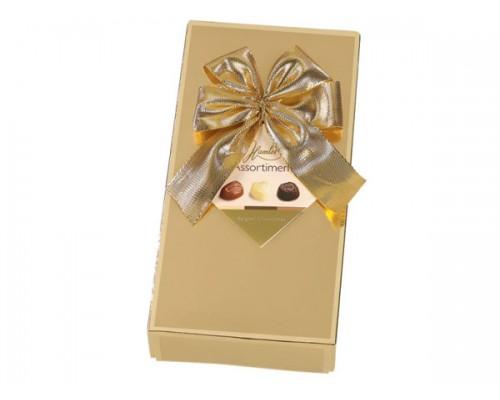 Гамлет Экселент шоколадные конфеты ассорти золотая 125 гр
