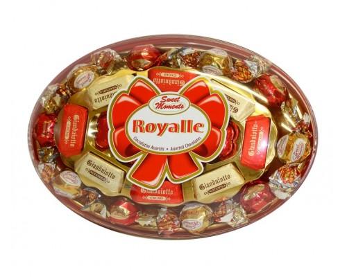 Конфеты ассорти Laica Драгоценность пралине из молочного шоколада с ореховым кремом и воздушным рисом 260гр