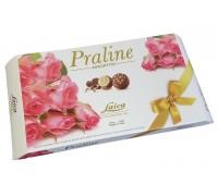 Конфеты Laica Пралины Розы пралине из молочного шоколада с кремовыми начинками 150гр