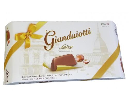 Конфеты Laica Джиандуиотти из молочно-орехового шоколада 160гр