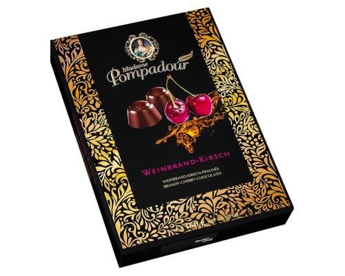 Шоколадные конфеты Madame Pompadour Бренди со вкусом вишни 150г