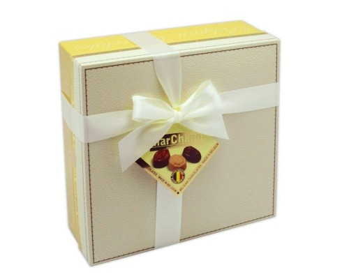 Маршанд  Пралине шоколадные конфеты кожа 400гр