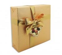 Шоколадные конфеты Пралине MarChand золото 400гр