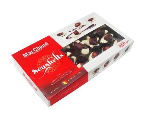 Шоколадные конфеты MarChand  Морские ракушки  250гр