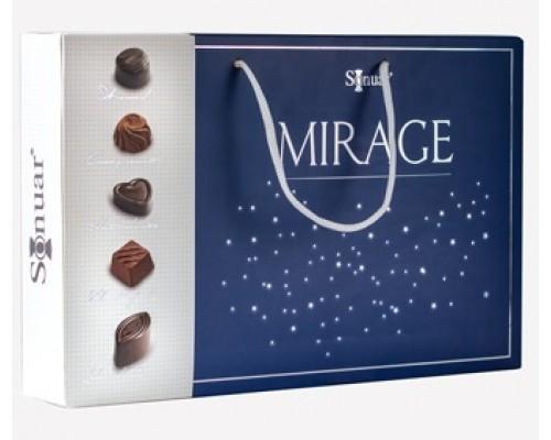 Mark Sevouni Мираж блю Коллекция шоколадных конфет в подарочной сумочке 320гр