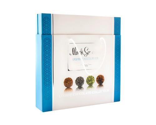 Mark Sevouni Лаундж Коллекция шоколадных конфет в подарочной сумочке 280гр