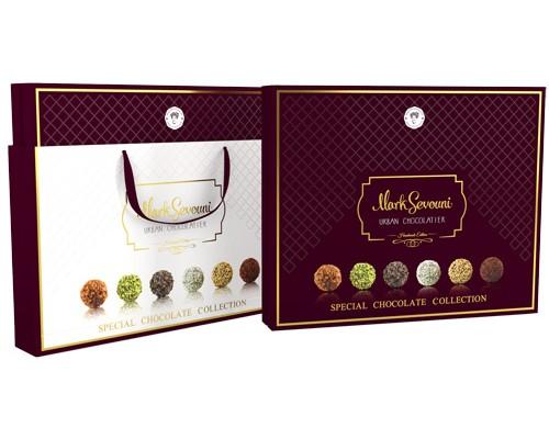 Mark Sevouni Спешл Коллекция шоколадных конфет в подарочной сумочке 360гр