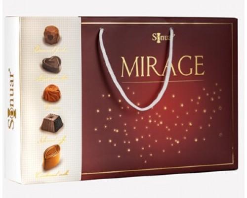 Mark Sevouni Мираж ред Коллекция шоколадных конфет в подарочной сумочке 320гр