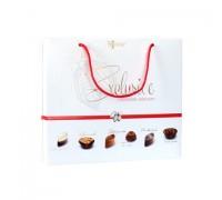 Sonuar Эксклюзив Набор шоколадных конфет ассорти в сумочке Белый 160гр