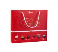 Sonuar Эксклюзив Набор шоколадных конфет ассорти в сумочке Красный 155гр