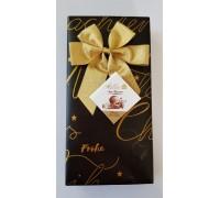 Шоколадные конфеты Мельбон Морские ракушки молочный и белый шоколад сундучок 125гр