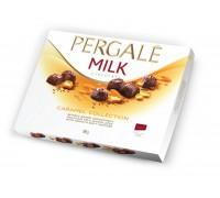 Шоколадные конфеты Пергале Карамельная Коллекция Молочного шоколада 189гр