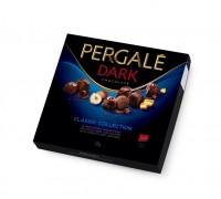 Шоколадные конфеты Пергале Коллекция Темного шоколада 125 гр