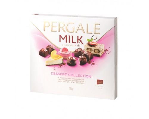 Шоколадные конфеты ассорти Пергале Десерт 125гр.