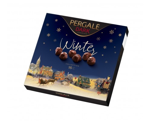 Пергале Зимняя коллекция Темный шоколад  125 гр