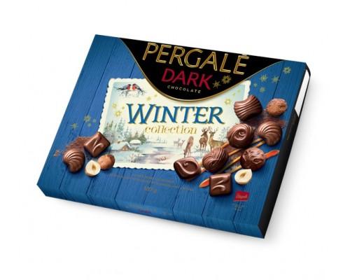 Пергале Зимняя Коллекция Темного шоколада 187 гр
