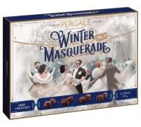 Ассорти шоколадных конфет Пергале Зимний маскарад из Темного шоколада 187 гр