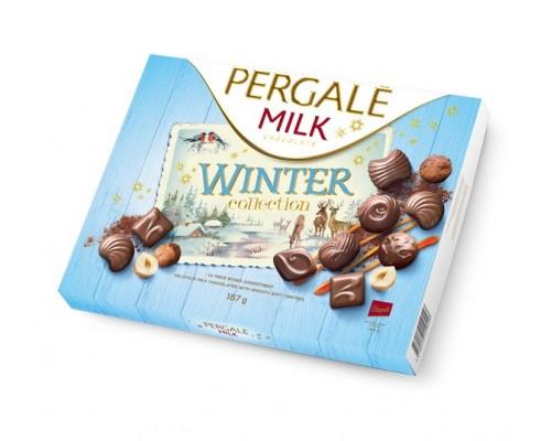 Пергале Зимняя Коллекция Молочного шоколада 187 гр
