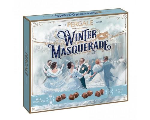 Ассорти шоколадных конфет Пергале Зимний маскарад из  Молочного шоколада 125 гр