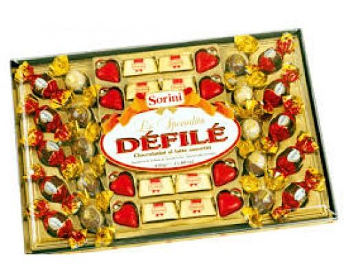 Сорини Дефиле шоколадные конфеты 450 гр