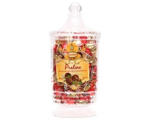Шоколадные конфеты Сорини JAR Ваза Ассорти пралине 400 гр