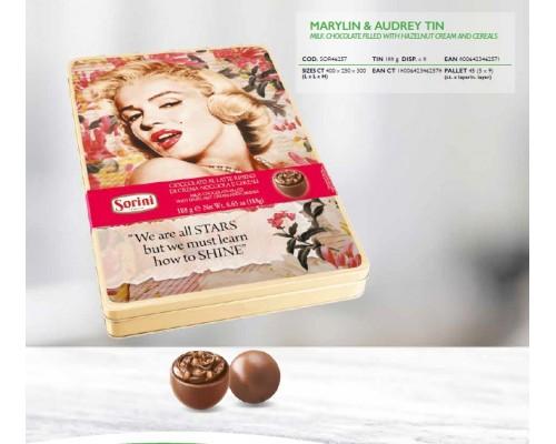 Сорини Мэрилин и Одри шоколадные конфеты 188 гр