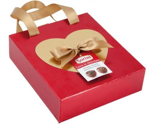 Сорини Романтика Сумочка шоколадные конфеты 120 гр