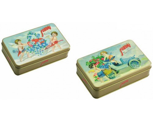 Сорини Vintage Angel шоколадные конфеты 80 гр жесть