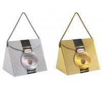 Sorini Glitterbag шоколадные конфеты с начинкой из орехового крема и злаков 150 гр