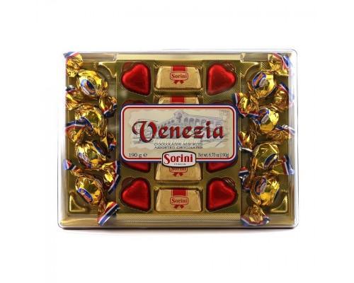 Шоколадные конфеты Sorini Венеция  190 гр
