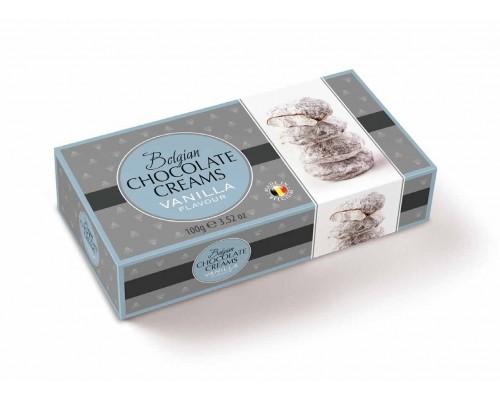 Geldhof Снежки Кремовые шоколадные конфеты со ванильной начинкой 100г